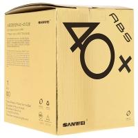 Мячи SANWEI 1* 40+ Plastic ABS Box x100 White