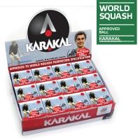 Мячи для сквоша Karakal 1-Red 1b Box x12 KZ676