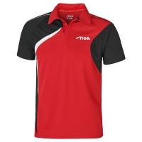 Поло Stiga Polo Shirt M Voyage 1854-2715 Red/Black