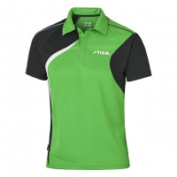 Поло Stiga Polo Shirt M Voyage 1854-2819 Green/Black