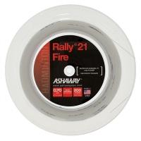 Струна для бадминтона Ashaway 200m Rally Fire 21 70 A14314 White