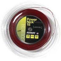 Струна для сквоша Ashaway 110m PowerNick 18 A10864 Red