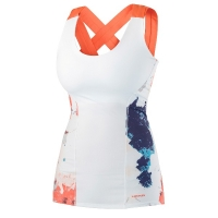 Майка Head Tank Top W Vision Graphic 814237 White/Coral