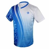 Футболка Kumpoo T-shirt M KW-8107 Blue/White