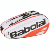 Чехол 10-12 ракеток Babolat Pure Strike White/Red 751170