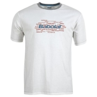 Футболка Babolat T-shirt JB Training Basic 42F1582 White