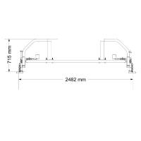 Кроссовер F434 для рамы F430 Body Craft Grey