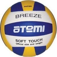 Мяч для волейбола ATEMI Breeze Microfiber Blue/Yellow