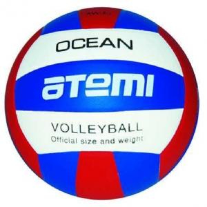 Мяч для волейбола ATEMI Ocean PU Blue/Red
