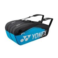 Чехол 4-6 ракеток Yonex 6826EX Black/Cyan