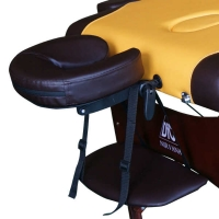 Массажный стол Nirvana Relax Yellow/Brown TS20112 DFC