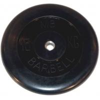 Диск обрезиненный 26mm 15kg MB-PltB26-15 MB Barbell