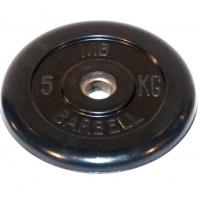 Диск обрезиненный 26mm 5kg MB-PltB26-5 MB Barbell