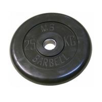 Диск обрезиненный 31mm 25kg MB-PltB31-25 MB Barbell