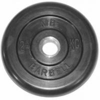 Диск обрезиненный 51mm 2.5kg MB-PltB51-2.5 MB Barbell