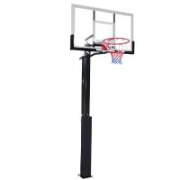Стойка баскетбольная Стационарная DFC 1270x800mm h2.45-3.05m ING50A