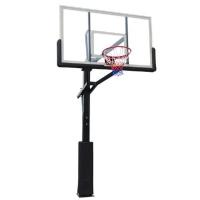 Стойка баскетбольная Стационарная DFC 1800x1050mm h2.30-3.05m r1.5m ING72G