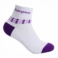 Носки спортивные Kumpoo Socks KSO-35W x1 White/Purple