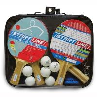 Набор для настольного тенниса Start Line Level 100 (4r, 6b, 1n) 61-452
