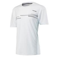 Футболка Head T-shirt JB Club Technical WHWH White 816637