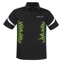Поло Donic Polo Shirt JU Airflex Black