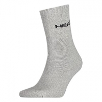 Носки спортивные Head Socks Short Crew Unisex x3 260014 Grey