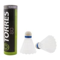 Воланы TORRES 80 x6 White BD-107