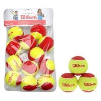 Мячи для тенниса Wilson Red Starter Polybag x12 WRT137100