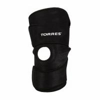 Суппорт колено Open Adjustable PRL6006 TORRES Black