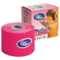 Тейп CureTape Kinesio Tape 50x5000mm 160165 Pink