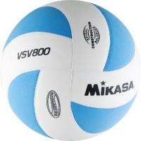 Мяч для волейбола Mikasa VSV800 WB White/Cyan
