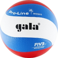 Мяч для волейбола Gala Pro-Line 10 FIVB BV5591S White/Cyan/Red