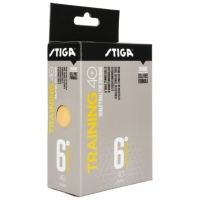 Мячи Stiga Training 40+ Plastic ABS x6 Orange
