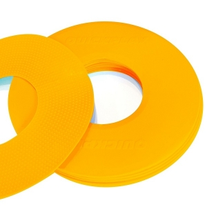 Маркеры для тренировок Flat Marker x10 Orange FM-ORANGE Quickplay