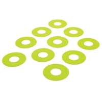 Маркеры для тренировок Flat Marker x10 Green FM-GREEN Quickplay