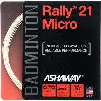 Струна для бадминтона Ashaway 10m Rally 21 Micro Prepacked Natural