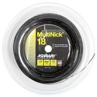 Струна для сквоша Ashaway 110m MultiNick A11040 Black