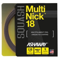 Струна для сквоша Ashaway 9m MultiNick A10940 Black