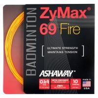 Струна для бадминтона Ashaway 10m Zymax Fire 69 Orange A14161