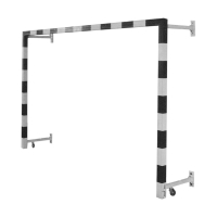 Ворота минифутбольные пристеночные 3x2m x2 ATLET IMP-A22