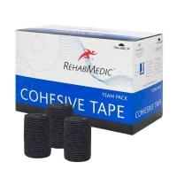 Тейп REHABMEDIC Cohesive Tape 75x4600mm x20 RMV0213BK Black