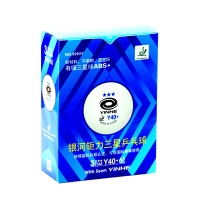 Мячи Yinhe 3* Y40+ Plastic ABS x6 White 9993Y