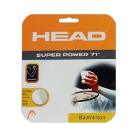 Струна для бадминтона Head 10m Super Power 71 White 205146