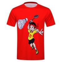 Футболка Kumpoo T-shirt JU KW-9313J Red