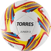 Мяч для футбола TORRES Junior-3 F318243 White/Red