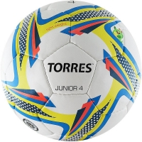 Мяч для футбола TORRES Junior-4 F318234 White/Yellow