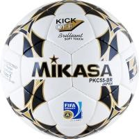 Мяч для футбола Mikasa PKC55BR-1 White/Gold
