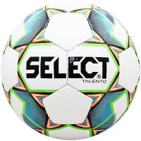 Мяч для футбола SELECT Talento 811008-104 White/Cyan