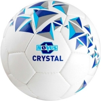 Мяч для футбола Novus CRYSTAL White/Blue