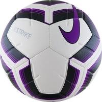 Мяч для футбола Nike Strike Team SC3535-100 White/Purple